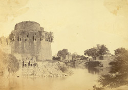 Part of Citadel, Beejapore.